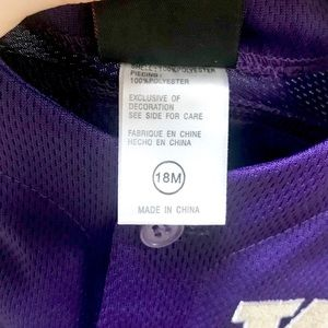 Nike One Pieces - Nike UW University of Washington Huskies Onesie